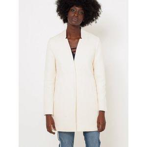 Biely ľahký kabát CAMAIEU vyobraziť
