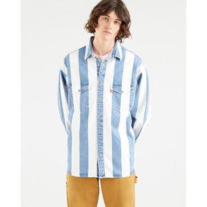 LEVI'S Košeľa 'Barstow Western' modré vyobraziť