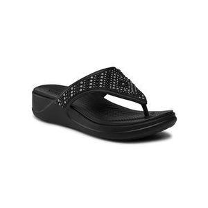 Crocs Žabky Monterey Shimmer Wgfpw 206843 Čierna vyobraziť