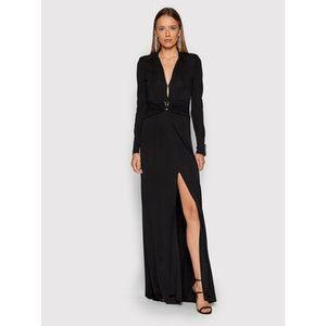 Pinko Večerné šaty Tornado 20212 BLK01 1G16U2 Y7DT Čierna Regular Fit vyobraziť
