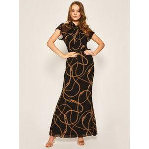 Lauren Ralph Lauren Večerné šaty Long Printed 253795743 Čierna Regular Fit vyobraziť