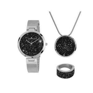 Jacques Lemans Darčekový set Jewellery Set 1-2035G-SET56 Strieborná vyobraziť