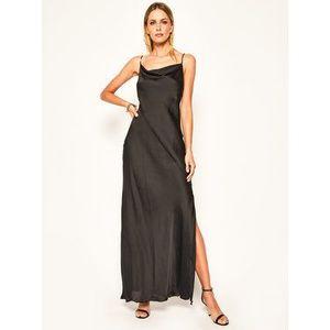 Patrizia Pepe Večerné šaty 2A2023/A2PFK103 Čierna Regular Fit vyobraziť