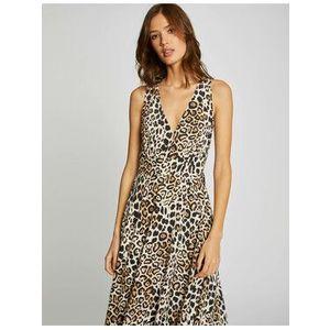 Morgan Večerné šaty 201-RONO.F Hnedá Regular Fit vyobraziť