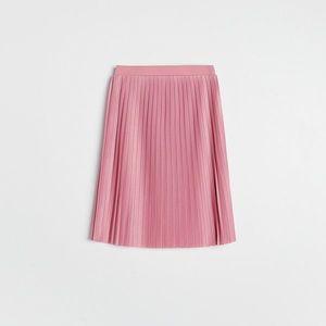 Reserved - Plisovaná sukňa - Purpurová vyobraziť