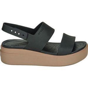 Crocs Dámske sandále Crocs Brooklyn Low Wedge W Black/Mushroom 206453-07H 41-42 vyobraziť