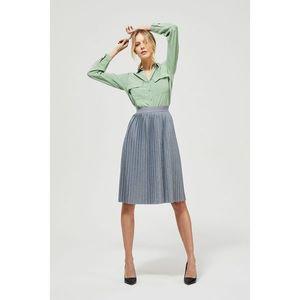 Šedá plisovaná sukňa Moodo vyobraziť