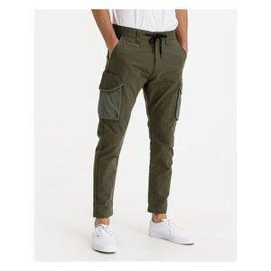 Voľnočasové nohavice pre mužov Salsa Jeans - zlatá, hnedá vyobraziť