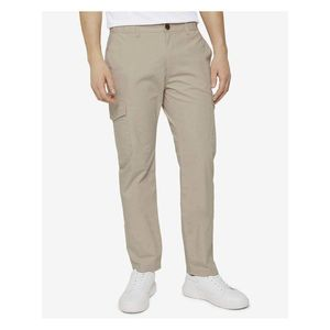 Voľnočasové nohavice pre mužov Tom Tailor - béžová vyobraziť