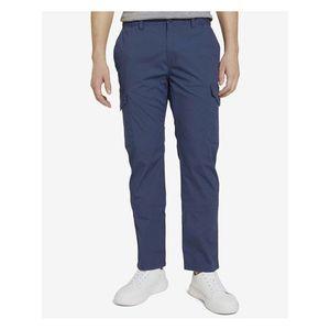 Voľnočasové nohavice pre mužov Tom Tailor - modrá vyobraziť