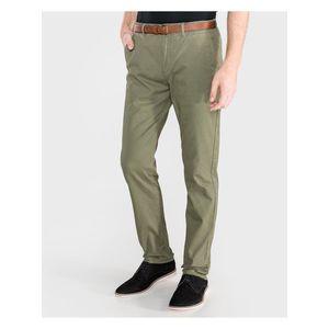Voľnočasové nohavice pre mužov Scotch & Soda - zelená vyobraziť