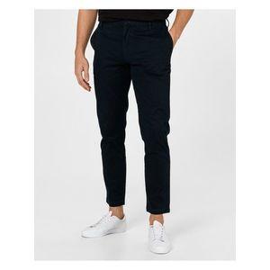Voľnočasové nohavice pre mužov Armani Exchange - modrá vyobraziť