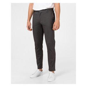 Voľnočasové nohavice pre mužov Armani Exchange - sivá vyobraziť