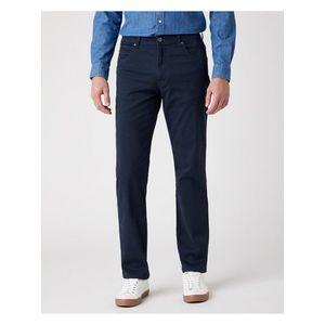 Voľnočasové nohavice pre mužov Wrangler - modrá vyobraziť