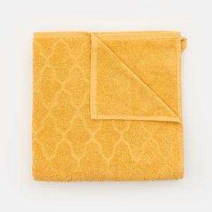 Sinsay - Bavlnený uterák, 70 cm × 140 cm - Žltá vyobraziť