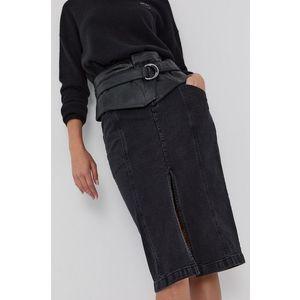 Pinko - Rifľová sukňa vyobraziť