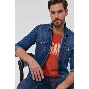 Pepe Jeans - Rifľová košeľa Hammond Wiser vyobraziť