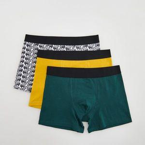 Reserved - Men`s boxer shorts - Žltá vyobraziť