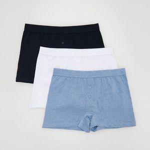 Reserved - Men`s boxer shorts - Tmavomodrá vyobraziť