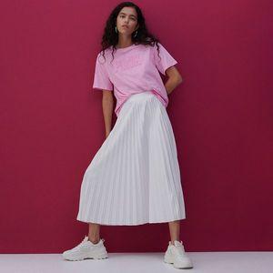 Reserved - Plisovaná sukňa - Krémová vyobraziť