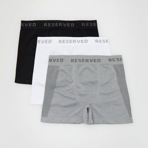 Reserved - Men`s boxer shorts - Biela vyobraziť