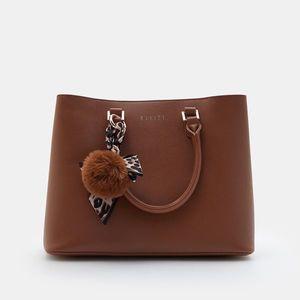Mohito - Dámska taška a prívesok - Hnědá vyobraziť