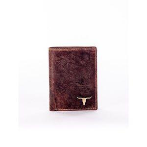 Rectangular light brown men´s wallet vyobraziť