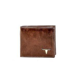 Men´s brown leather wallet vyobraziť