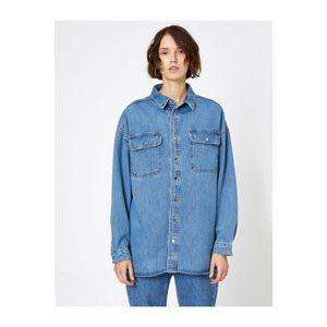 Koton Women's Blue Shirt vyobraziť