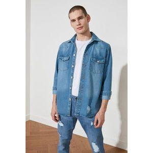 Trendyol Regular Denim Jacket Shirt vyobraziť