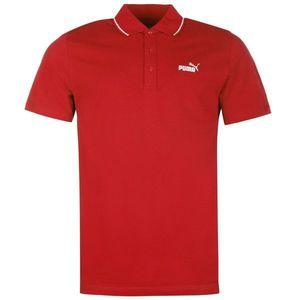 Puma No 1 Logo Pique Polo Shirt Mens vyobraziť