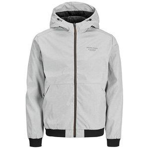 Jack&Jones Pánska bunda JJESEAM 12182243 Light Grey Melange S vyobraziť