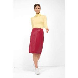 Kožená sukňa vyobraziť