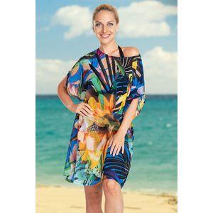 Dámske plážové šaty Jungle Flower vyobraziť