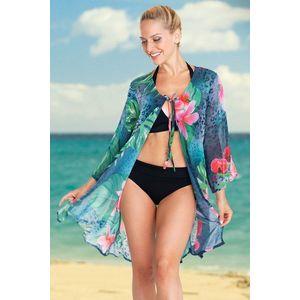 Dámske plážové šaty Tropical Flower vyobraziť