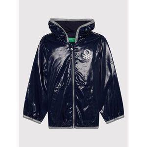 United Colors Of Benetton Nepremokavá bunda 2EO053HI0 M Tmavomodrá Regular Fit vyobraziť