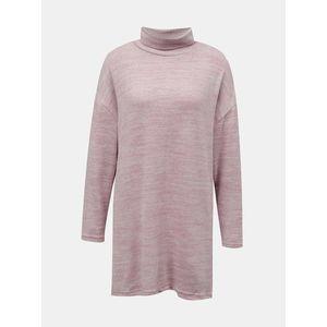 Ružový dlhý sveter so stojáčikom TALLY WEiJL vyobraziť