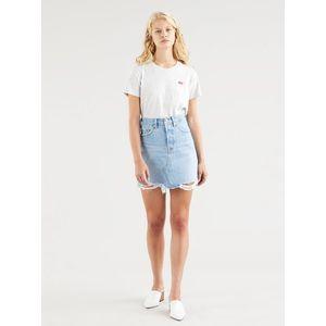Modrá dámska rifľová sukňa Levi's® vyobraziť