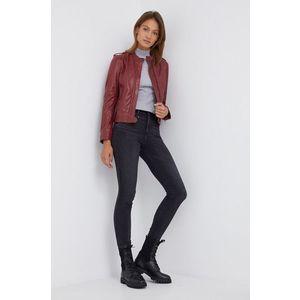 Pepe Jeans - Kožená bunda Danna vyobraziť