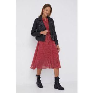 Pepe Jeans - Kožená bunda Megan vyobraziť