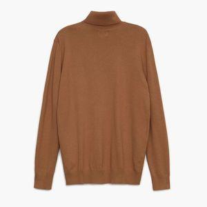 Cropp - Basic rolákový sveter - Béžová vyobraziť