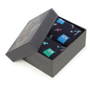 Moderné pánske ponožky - darčekový set 2 ks vyobraziť