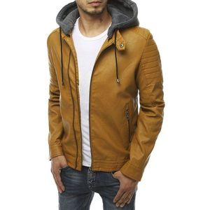 Pánska moderná koženková bunda vyobraziť