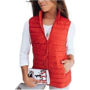 červená dámska vesta Alls vyobraziť