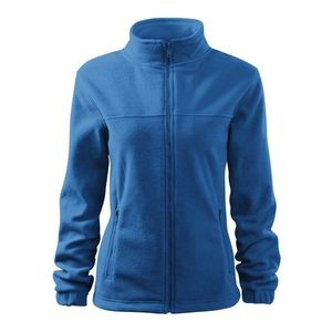 Adler (MALFINI) Dámska fleecová mikina Jacket - Azurově modrá   L vyobraziť