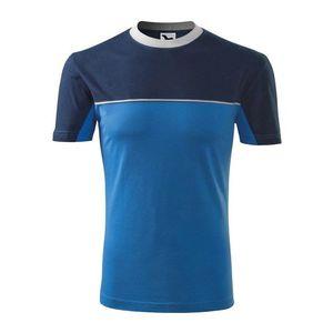 Adler (MALFINI) Tričko Colormix - Azurově modrá   L vyobraziť