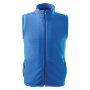 Adler (MALFINI) Fleecová vesta Next - Azurově modrá   L vyobraziť