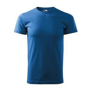 Adler (MALFINI) Pánske tričko Basic - Azurově modrá   L vyobraziť