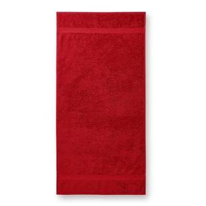 Adler (MALFINI) Osuška Terry Bath Towel - Červená   70 x 140 cm vyobraziť