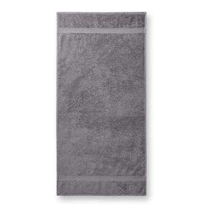 Adler (MALFINI) Osuška Terry Bath Towel - Starostříbrná   70 x 140 cm vyobraziť